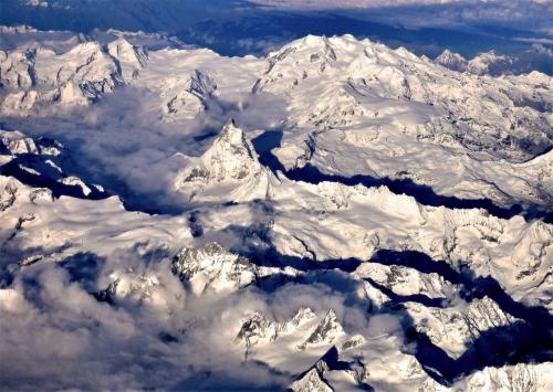 Aus der Luft 9 ( Matterhorn)