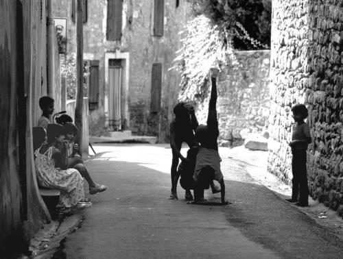 Kinder in Carcassonne 1