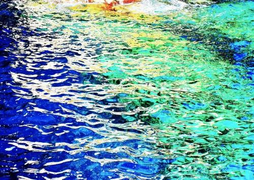 Verfremdung 1 (Wasser, Elba)